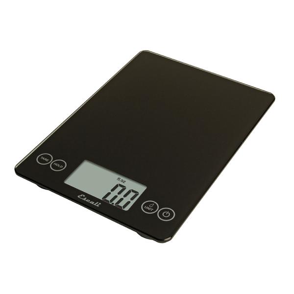 Escali Arti Glass Digital Scale (Ink Black) [157IB]