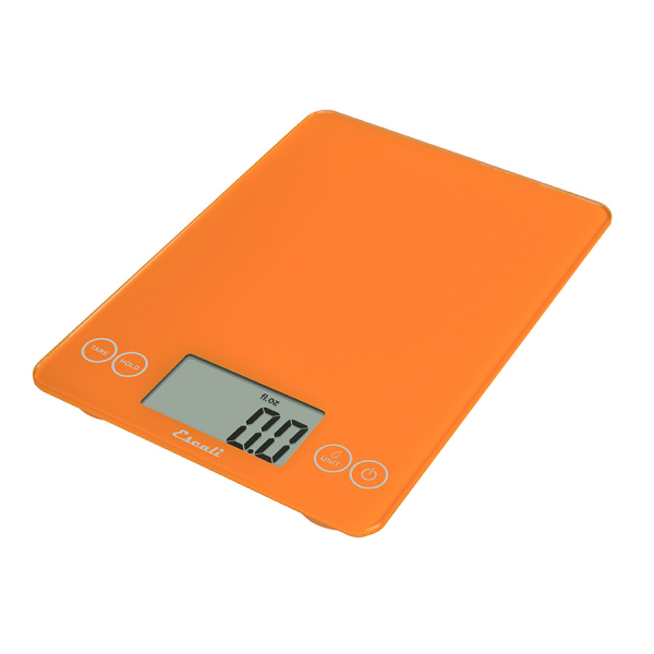 Escali Arti Glass Digital Scale (Overly Orange) [157OO]