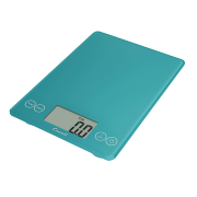 Escali Arti Glass Digital Scale (Peacock Blue) [157PB]