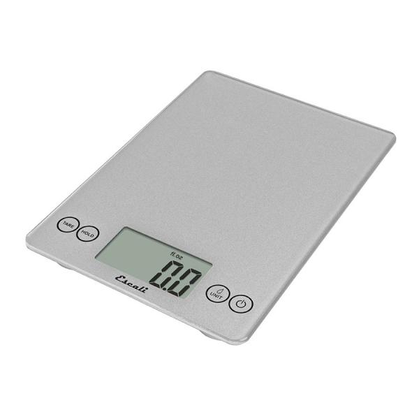 Escali Arti Glass Digital Scale (Shiny Silver) [157SS]
