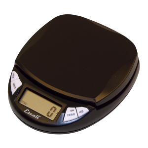 Escali Pico Pocket Size Digital Scale (Midnight Black) [N155MB]