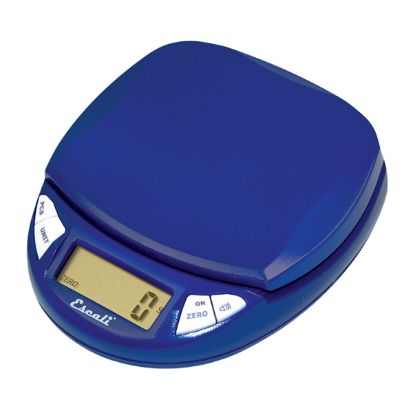 Escali Pico Pocket Size Digital Scale (Royal Blue) [N115RB]