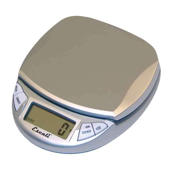 Escali Pico Pocket Size Digital Scale (Silver / Gray) [N115S]