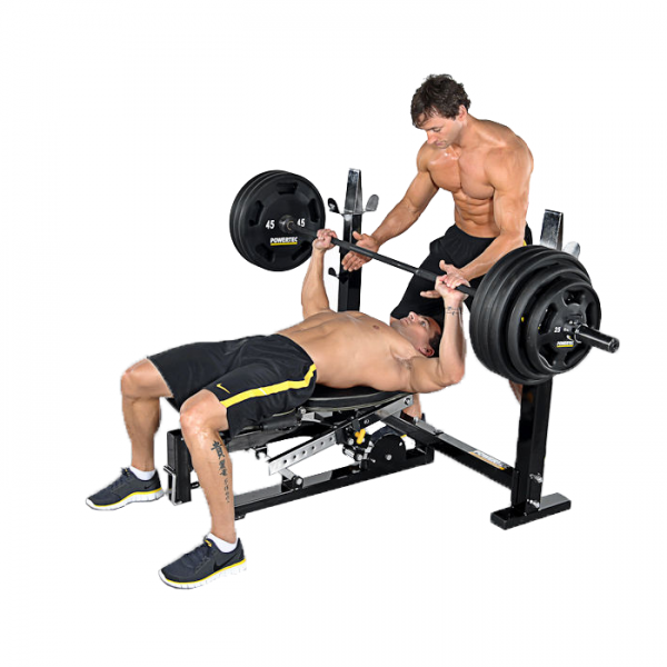 Powertec Workbench Olympic Bench [WB-OB11] - flat bench press