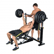 Powertec Workbench Olympic Bench [WB-OB11] - incline bench press