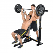Powertec Workbench Olympic Bench [WB-OB11] - shoulder press