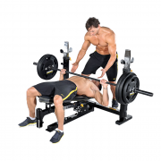 Powertec Workbench Olympic Bench [WB-OB11] - decline bench press