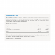 Vitabase Sublingual Vitamin B12 Nutrition Label
