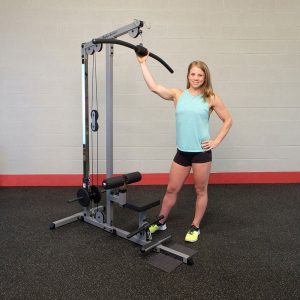 Body-Solid Pro Lat Machine [GLM83]