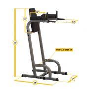 Body-Solid Vertical Knee Raise & Dip Machine [GVKR60]