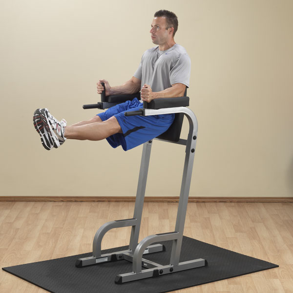 Body Solid Vertical Knee Raise Amp Dip Machine Gvkr60