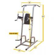Body-Solid Vertical Knee Raise / Dip / Pull Up [GVKR82]