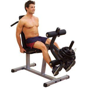 Body-Solid Seated Leg Extension & Leg Curl Machine [GLCE365]