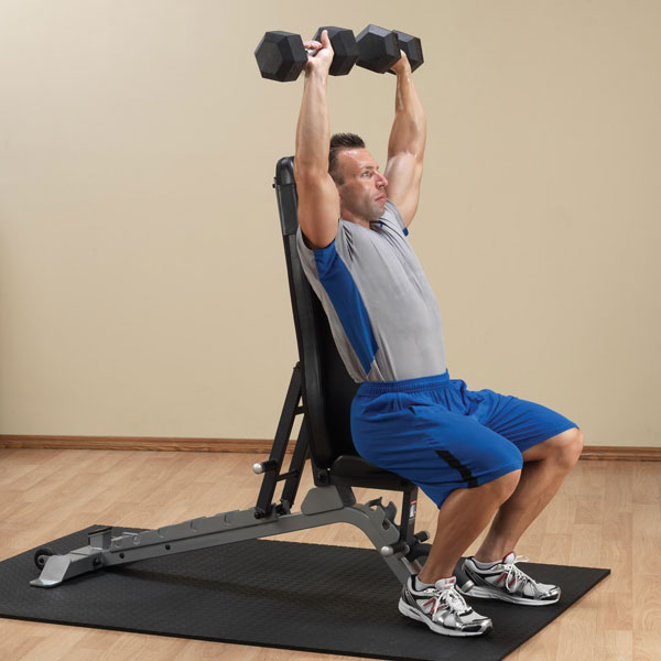 Body-Solid Pro Club Line Adjustable Bench [SFID325]