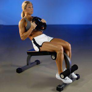 XMark Fitness Mini Ab Bench [XM-4415]