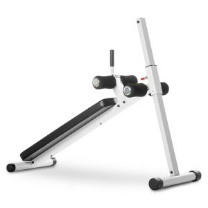XMark Fitness 12 Position Adjustable Ab Bench [XM-4416.1-WHITE]