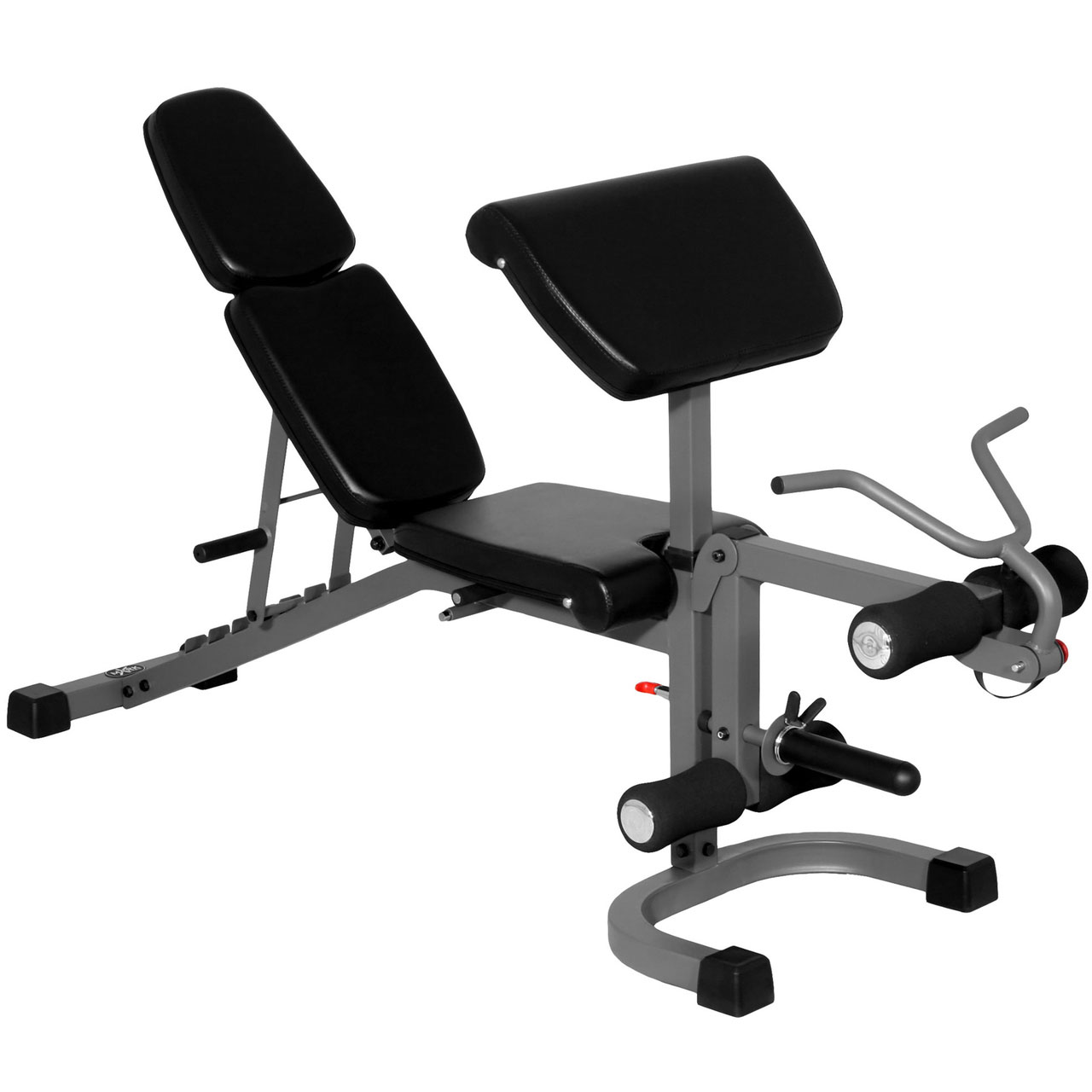 Xmark fitness flat incline decline bench with arm curl and leg developer xm 4418 incredibody - Incline and decline bench ...