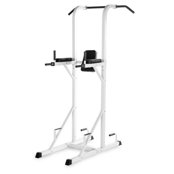 XMark Fitness Power Tower with Dip Station and Pull Up Bar [XM-4434-WHITE]