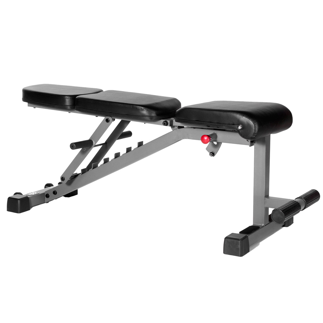 Xmark Fitness Adjustable Flat Incline Decline Dumbbell