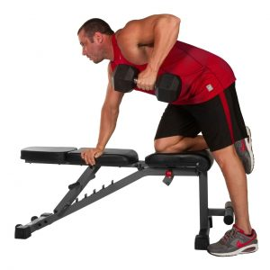 XMark Fitness Adjustable Flat / Incline / Decline Dumbbell Bench [XM-4440]