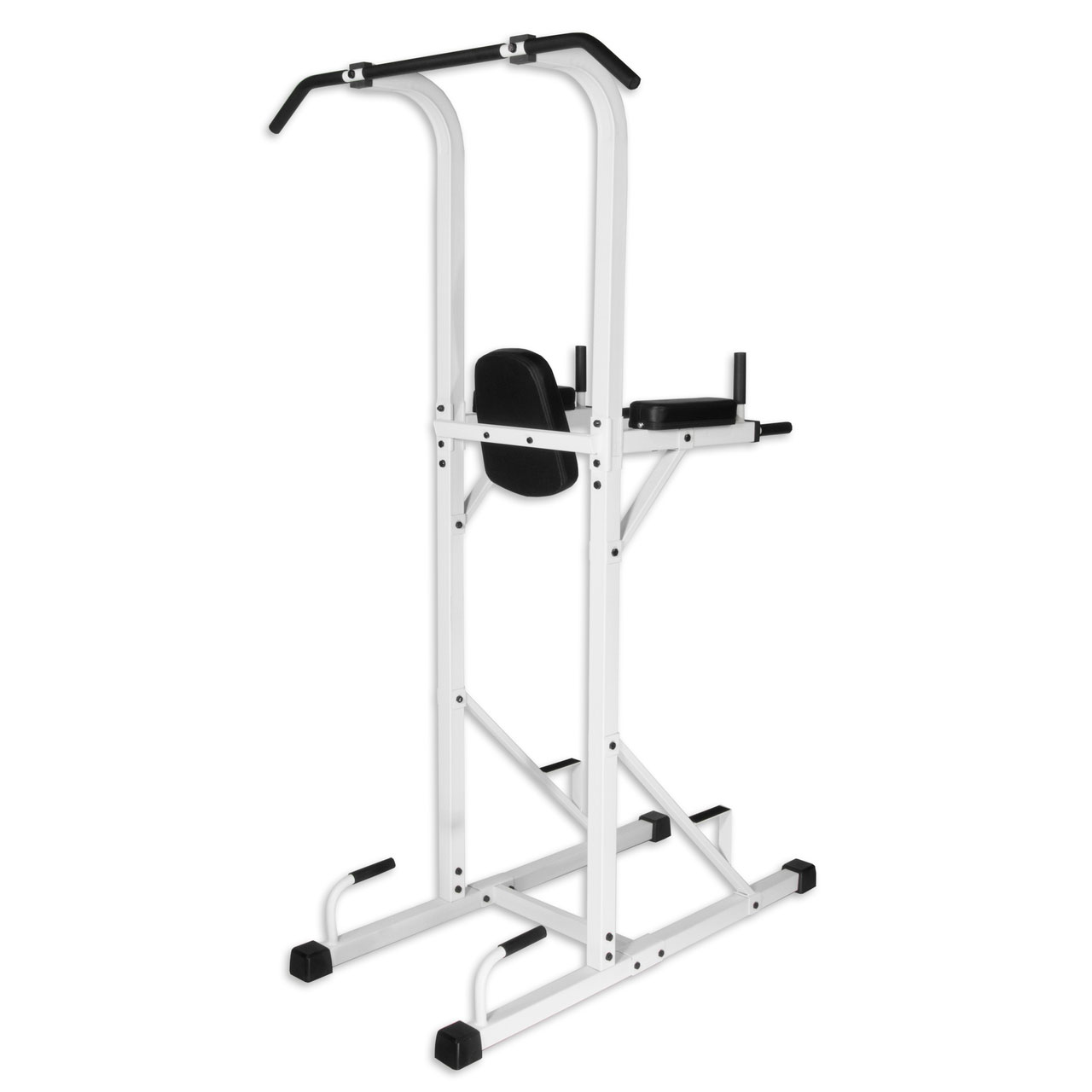 xmark fitness power tower with dip stand and pull up. Black Bedroom Furniture Sets. Home Design Ideas