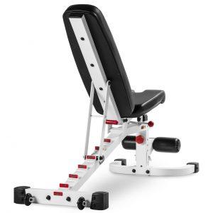 XMark Fitness 11 Gauge Flat / Incline / Decline Bench [XM-7472-WHITE]
