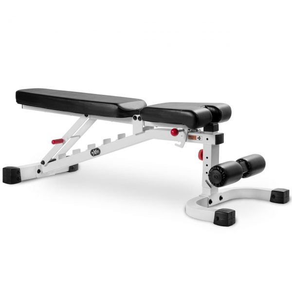 XMark Fitness 11 Gauge Flat / Incline / Decline Bench [XM-7472-WHITE]