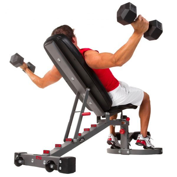 XMark Fitness 11 Gauge Flat / Incline / Decline Bench [XM-7472]