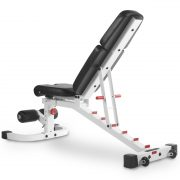 XMark Fitness Flat / Incline / Decline Weight Bench [XM-7604-WHITE]