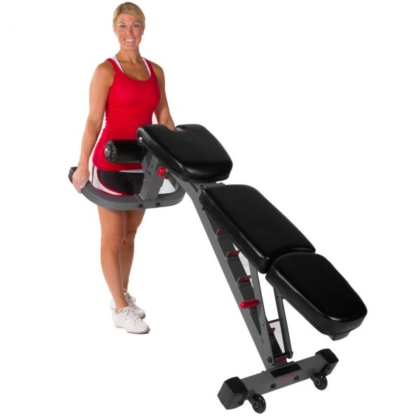 XMark Fitness Flat / Incline / Decline Weight Bench [XM-7604]