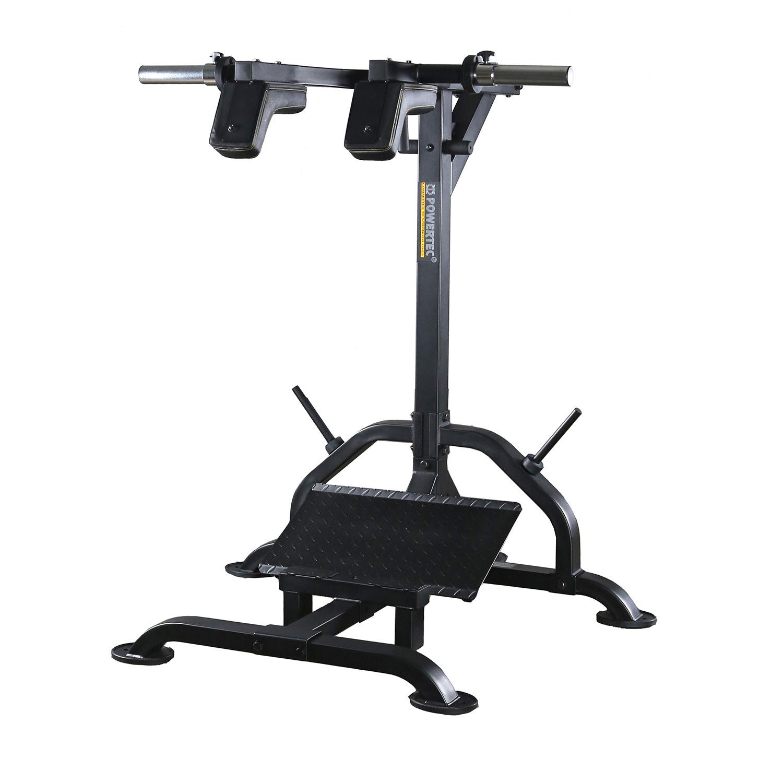 powertec squat calf machine