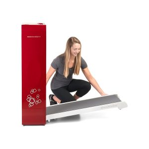 BodyCraft Spacewalker Compact Folding Treadmill - Red [SWT-R]