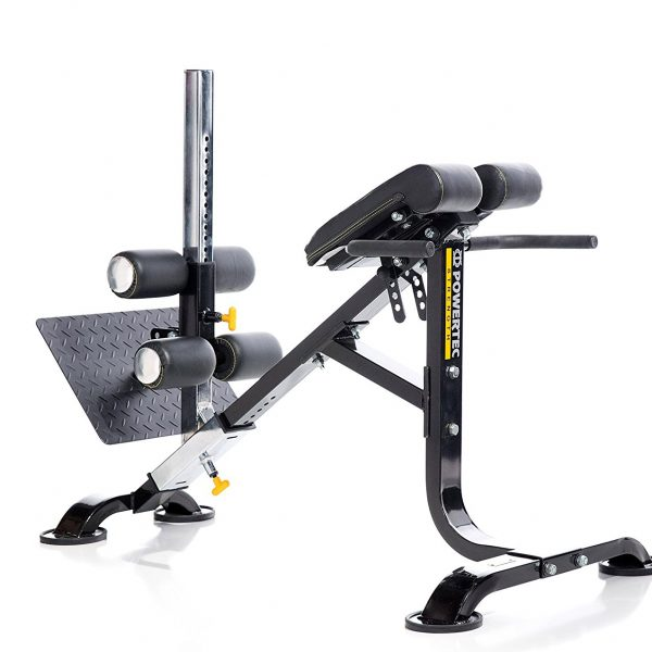 Powertec Dual Hyperextension Ab Crunch [P-HC15]