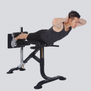 Powertec Dual Hyperextension Ab Crunch [P-HC16]